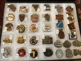 Midwest Watch Fob Collectors Society Fobs