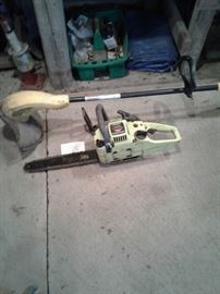 Chain saw, weed trimmer https://ctbids.com/#!/description/share/65235