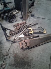 Saws, crow bars, crescent wrenches https://ctbids.com/#!/description/share/65241