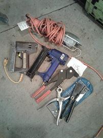 Lamp, staple gun, nail gun, pop rivet https://ctbids.com/#!/description/share/65243
