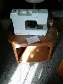 Oak table, sewing machine https://ctbids.com/#!/description/share/65300