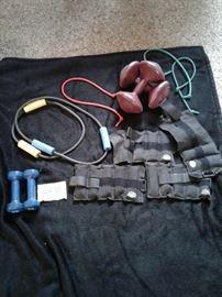 Dumbbells, exercise bands, weights https://ctbids.com/#!/description/share/65327