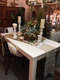 contemporary table dining/crafts