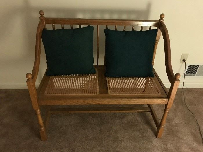 Wood and Wicker chair