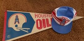 Houston Oilers Vintage Ephemera