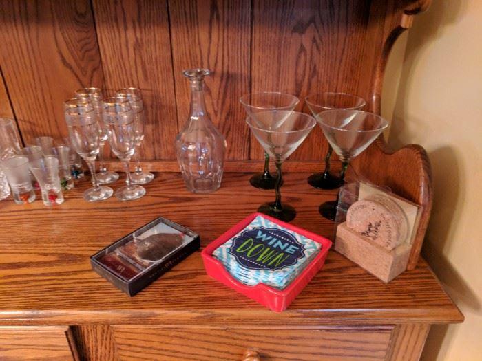 Bar glassware