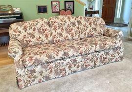 La-Z-Boy floral sofa w/matching love seat - excellent condition