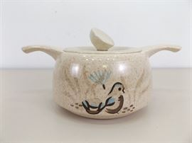 Vintage MINT Red Wing Lidded Soup Tureen