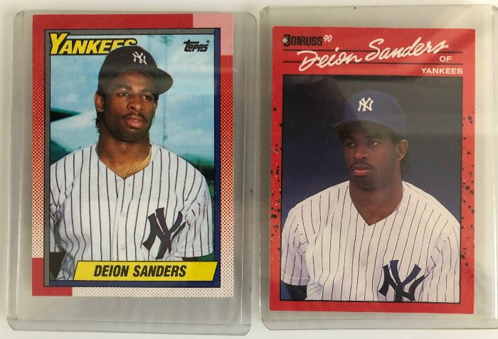 there are loads of baseball cards!