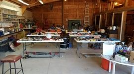 Full Barn of Tools and Materials
