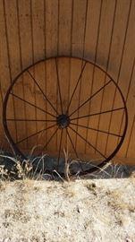 Rusty Old Wheel