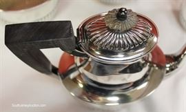 5 Piece Sterling Tea Set – polished and ready to display  Located Showcases – Auction Estimate $400-$800