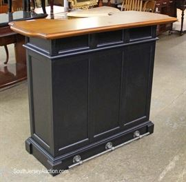 Contemporary Petite BAR with Foot Rail  Located Inside – Auction Estimate $100-$300