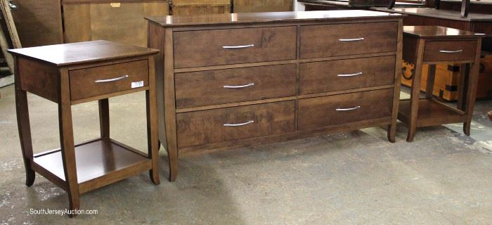 "Contemporary 5 Piece Queen Bedroom Set by ""Baronet"" made in Canada  Located Inside – Auction Estimate $300-$600"