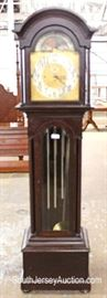 "SOLID Mahogany 5 Tube Grandfather Clock by ""Herschede"" Sold by John Wanamaker – Presented to Family in 1927 Located Inside – Auction Estimate $700-$1500"