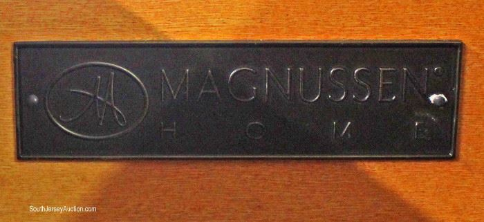 "Contemporary Mahogany Finish High Chest and Low Chest by ""Magnussen""  Located Inside – Auction Estimate $200-$400"