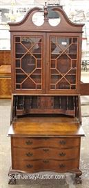 One of Several Mahogany Ball and Claw Secretary Bookcase  Located Inside – Auction Estimate $100-$300