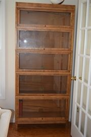 Tall Cabinet with Glass Fronts
