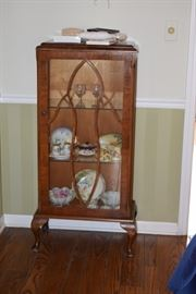 Glass Side Cabinet