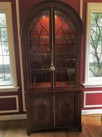Baker Bonnet Top China Cabinet - Historic Charleston Collection