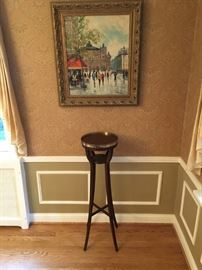 Baker Furniture - Historic Charleston Collection and french oil painting