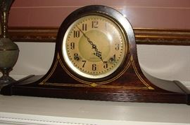 Antique Plymouth mantel clock