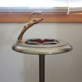 Art Deco ashtray stand.