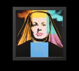 Andy Warhol Ingrid Bergman
