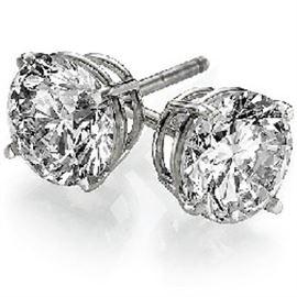 4CT Diamond Earrings