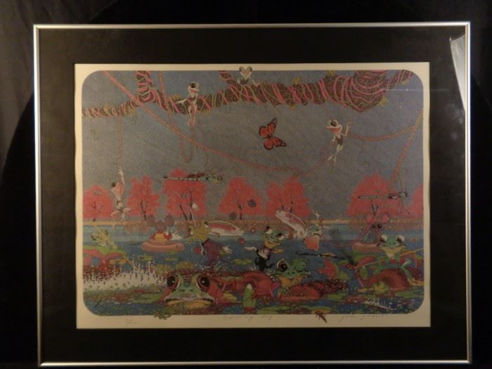 """John Roberts signed & numbered print, """"Opening Day"""""""