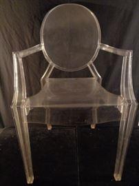Philippe Stark Ghost Chair for Kartell