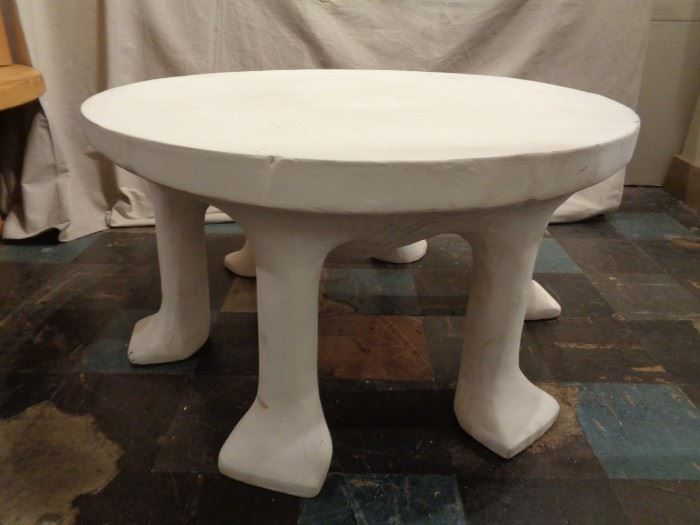 John Dickerson Large 6 Legged African Table for Sutherland