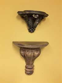 Decorative sconces in great condition