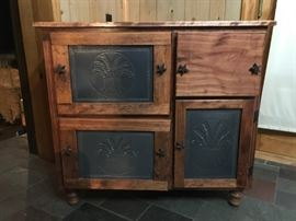 Tin front cabinet - Great condition!!