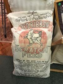 Vintage feed bag