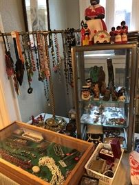 the better jewelry and black collectibles, much more costume jewelry