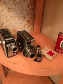 few vintage camera items