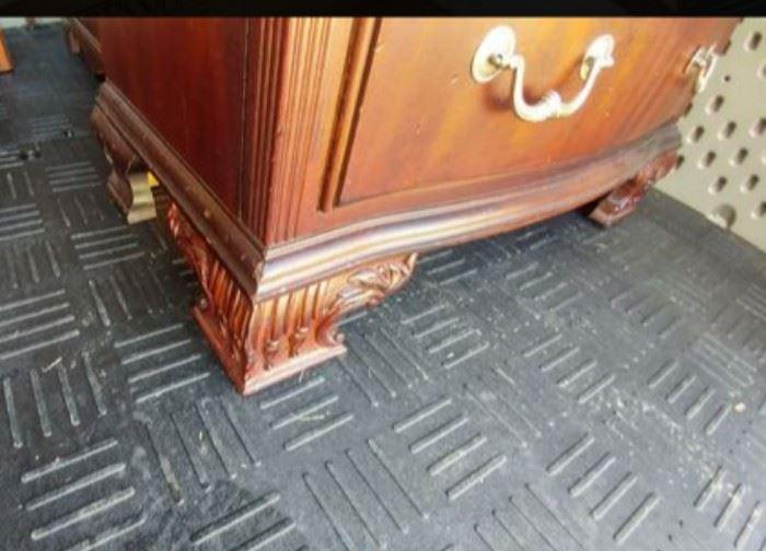Footed Dresser