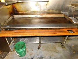 6 Foot Flat Top Griddle