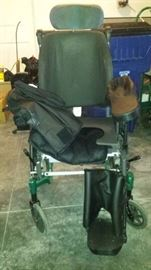 High Back Wheel Chair Envicare Brand