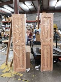 Biparting Sliding Barn Door Pine