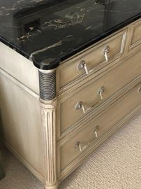 Marble Table Kindel Furniture Bedroom Set
