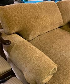 Chenille large love seat