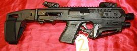 2 - Glock Model 23 40 cal Pistol