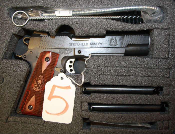 5 - Springfield Model 1911 Operator 45 acp Pistol