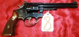 8 - Smith & Wesson Model 17-2 22 cal Revolver