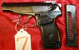 7 - Baikal Makarov Model IJ-70 380 cal Pistol