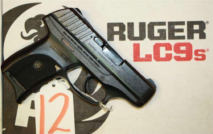 12 - Ruger Model EC9S 9 mm Pistol