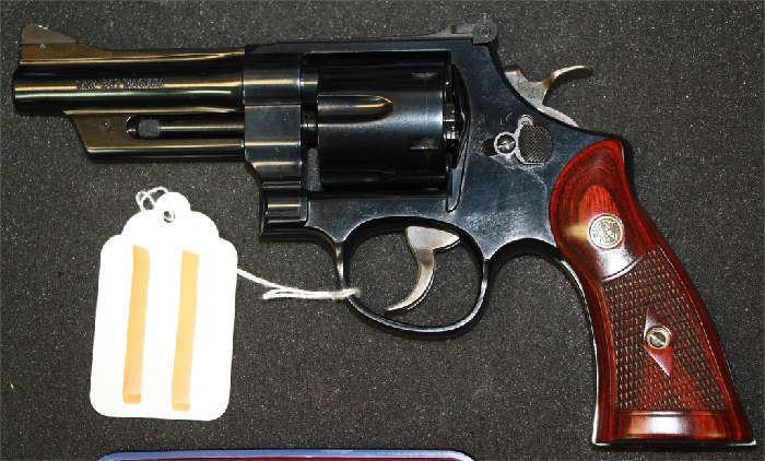 11 - Smith & Wesson Model 27-9 357 cal Revolver