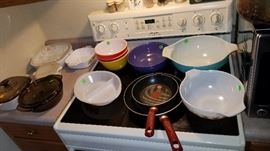 There are the everyday kitchen items